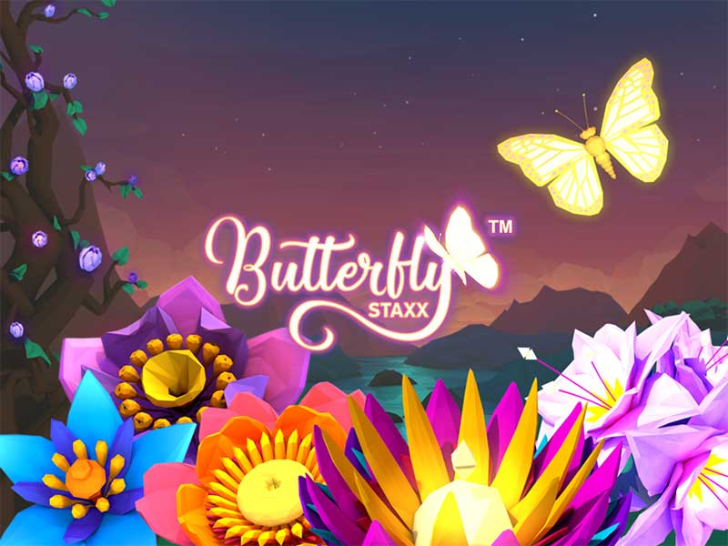 Mobil Butterfly Staxx Spelautomater 163466